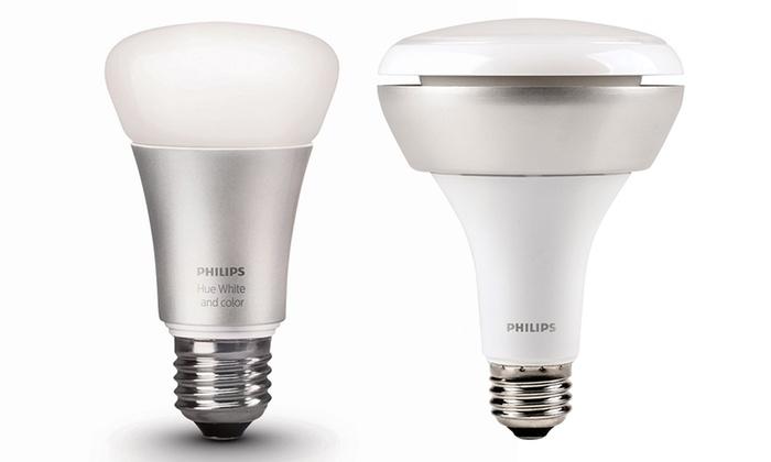 46 Off On Philips White Amp Color Bulbs Livingsocial Shop