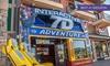 7D Dark Ride Adventure - Multiple Locations: Two, Four, or Six Rides at 7D Dark Ride Adventure (Up to 47% Off)