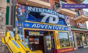 Up to 45% Off Rides at 7D Dark Ride Adventure at 7D Dark Ride Adventure, plus 6.0% Cash Back from Ebates.