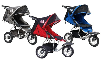 BeBeLove USA 68 Series Single Jogging Stroller in Blue, Gray, or Red. Free Returns.