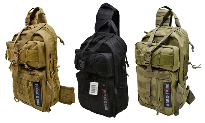 Hard Stone Tactical Concealed Carry Sling Backpack Groupon