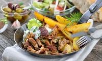 Griechisches 4-Gänge-Menü inkl. Ouzo für Zwei oder Vier im Restaurant Die Griechin Am Schloss (bis zu 52% sparen*)