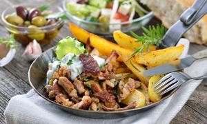 Restauracja Grec: Smaki Grecji: 3-daniowa uczta dla 2 osób za 59,99 zł i więcej opcji w Restauracji Grec (do -66%)