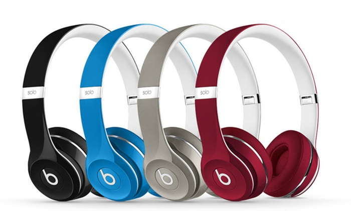 beats by dre solo 2 et studio groupon shopping. Black Bedroom Furniture Sets. Home Design Ideas