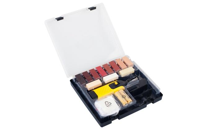 Laminate floor or worktop repair kit groupon for Kit riparazione parquet