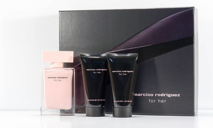 Set Narciso Rodriguez per lei con EDP da 50 ml disponibile in 2 varianti