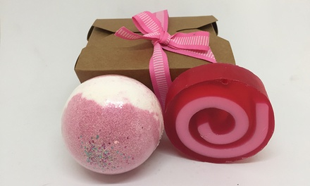 From $12 for a Choice of Soap and Bath Bomb Gift Set from Soap Opera (from $19.99 Value)