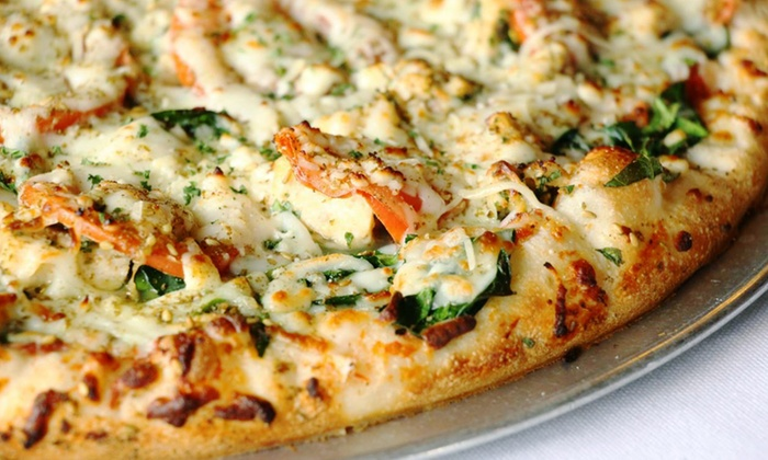 Palio's Pizza Cafe - The Colony: Traditional and Gluten Free Pizza at Palio's Pizza Cafe -- The Colony, (Up to 38% Off). Two Options Available.