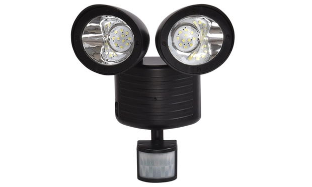 $25 for a 22 LED Solar Powered Dual Motion Sensor Light