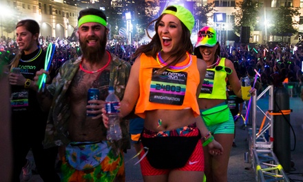 $30 for Entry to a Nighttime 5K Music Festival from Night Nation Run: October 14 ($60 Value)