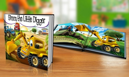 Soft or Hardcover Personalised Childrens Story Book from Dinkleboo (Up to 73% Off)