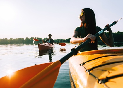 One or Two Hours Single or Double Kayak Rental with Instruction at Miami Beach Paddleboard (Up to 66% Off)