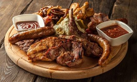 ⏰ Menu grigliata di carne e vino