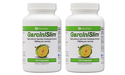 NexGen GarciniSlim Garcinia Cambogia Supplement (240 Count)