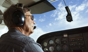 Leading Edge Flight Training: 30-Minute Flying Lesson With One-Year Standard Membership for £99 at Leading Edge Flight Training (Up to 58% Off)
