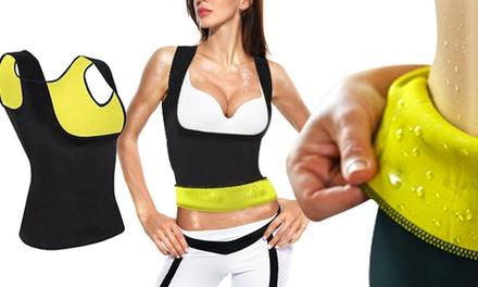 Top push up mujer efecto reductor con tecnología y fibras NEO