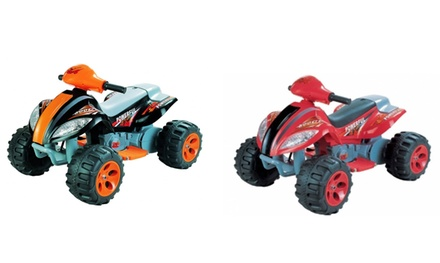 6v quad bike style ride on