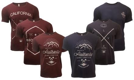 2er-Pack Herren-T-Shirts mit Printnach Wahl aus 100% Baumwolle  (Munchen)