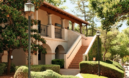 groupon daily deal - Stay for Four with Dining Credit at Los Abrigados Resort & Spa in Sedona, AZ, with Dates into February