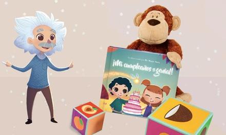 1, 2 o 3 libros personalizados para niños