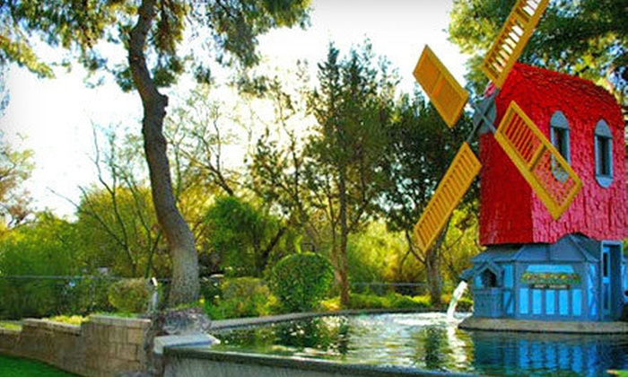 Golf N Stuff - Ward 2: 18 Holes of Mini Golf and One Park Attraction for Two, Four, or Six at Golf N Stuff (Up to 60% Off)