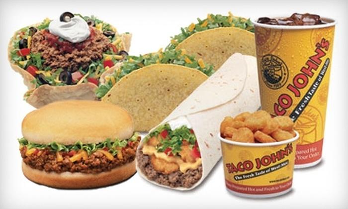 Taco John's - Reno: $5 for $10 Worth of West-Mex Fare at Taco John's
