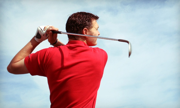 MCG - Multiple Locations: One-Hour Golf Lesson with Optional Range Balls at the MCG Academy (Up to 54% Off). 12 Options Available.