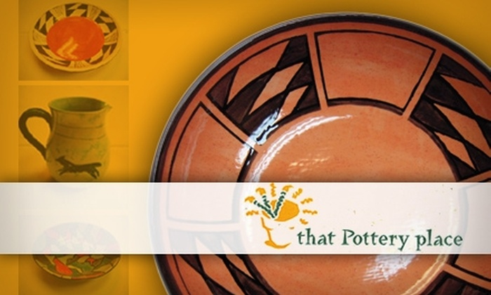 That Pottery Place Studio - Atlanta-Decatur: $15 for $35 Worth of Paint-Your-Own Pottery at That Pottery Place Studio