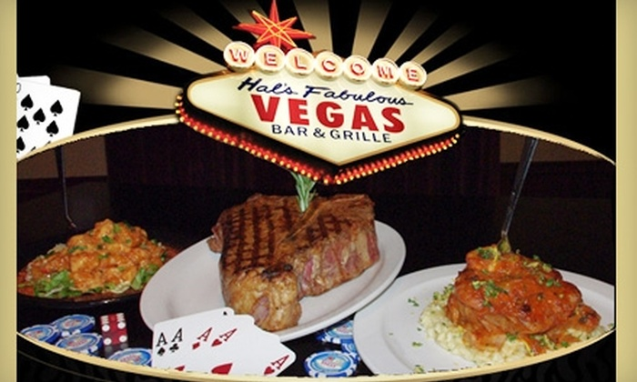 Hal's Fabulous Vegas Bar and Grille - Greenwood: $15 for $30 Worth of Traditional American Fare and Drinks at Hal's Fabulous Vegas Bar & Grille in Greenwood