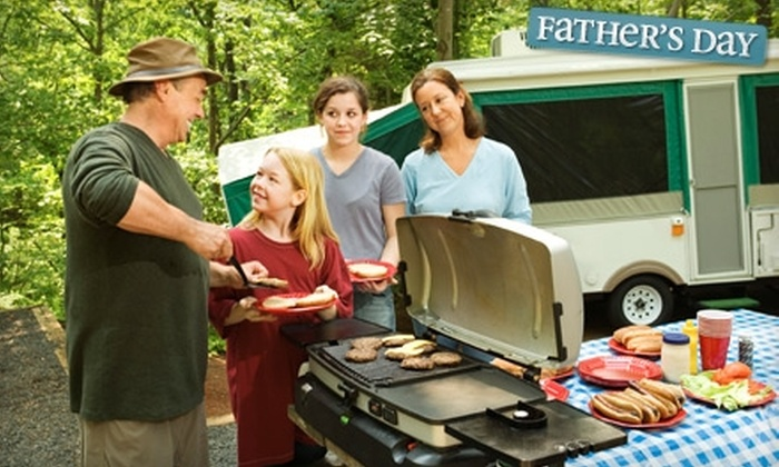 Rustic Creek Ranch - Burleson: $95 for a Two-Night Camping Stay and Activity Package at Rustic Creek Ranch in Burleson (Up to $189.96 Value)