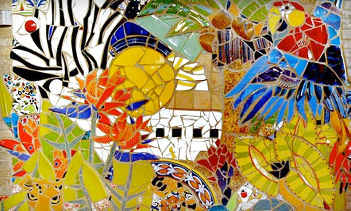 The Mosaic Shop - Jackson: Mosaic Projects for One, Two, or Four at The Mosaic Shop