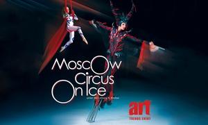 """Art Trends: 2 Tickets für die neue Show """"Triumph"""" des """"Moscow Circus on Ice"""" in neun Städten (bis zu 39% sparen)"""