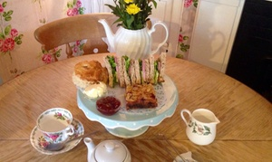The Steyning Tea Rooms: Afternoon Tea for Two or Four at The Steyning Tea Rooms (37% Off)