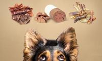 Wertgutschein über 30 € oder 50 € anrechenbar auf Hundefutter und das gesamte Sortiment des Onlineshops Bonali