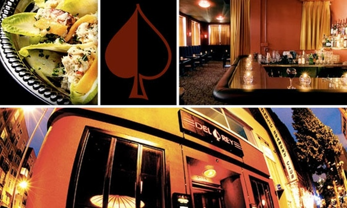 Del Rey - Belltown: $10 for $25 Worth of Food and Drink at Del Rey