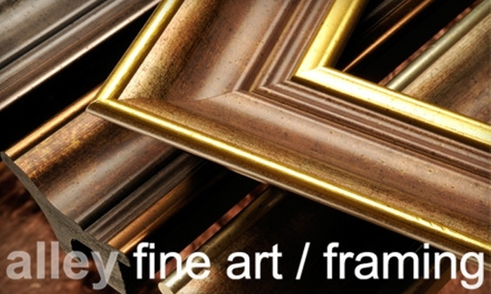 Alley Fine Art / Framing - Springboro: $40 for $100 Worth of Custom Framing at Alley Fine Art / Framing