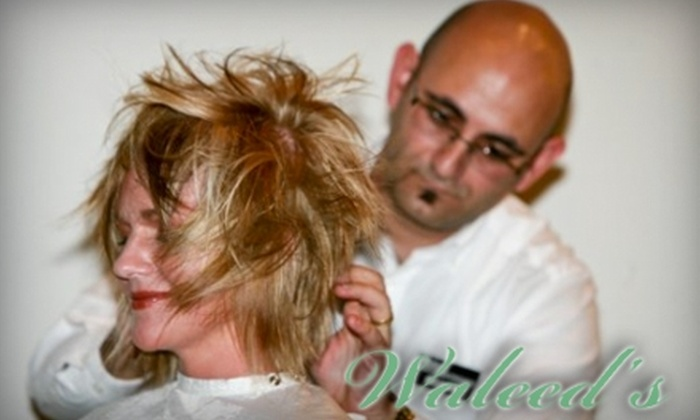 Waleed's International Hair Design and Therapeutic Spa - Evansville: $17 for a Shampoo, Haircut, and Style at Waleed's International Hair Design and Therapeutic Spa ($35 Value)