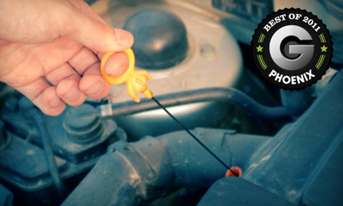 Fletcher's Tire and Auto Service - Multiple Locations: Three Oil Changes or One Brake, Coolant, or Power-Steering Auto Maintenance Flush at Fletcher's Tire and Auto Service (Up to 77% Off)
