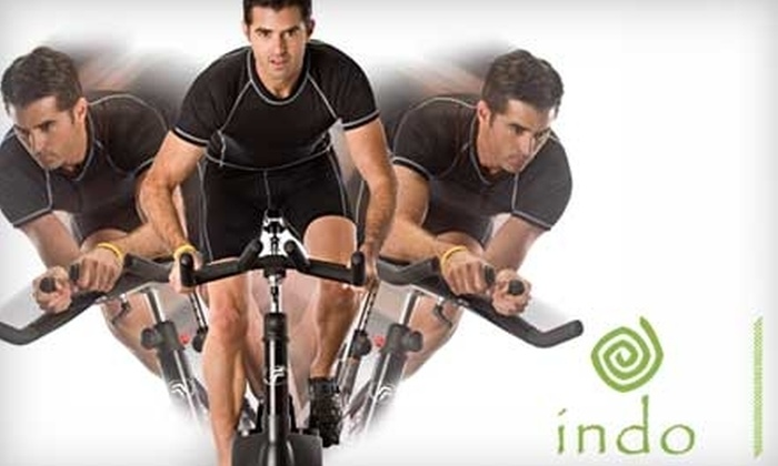 Indo - Miami: $49 for One Month of Unlimited RealRyder Spinning Classes at Indo in Aventura ($140 Value)