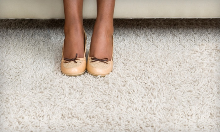 OZ Carpet Cleaning & More - Pompano Beach: $45 for Carpet or Tile Cleaning from OZ Carpet Cleaning & More ($90 Value)