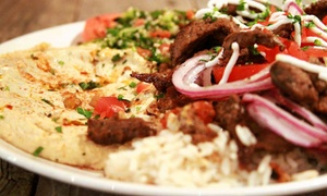 Pure Pita: Mediterranean Food at Pure Pita (Up to 50% Off). Two Options Available.