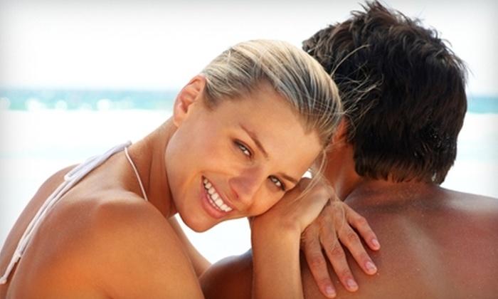 Endless Summer Tan - Fig Garden Loop: Airbrush Tan or Haircut at Endless Summer Tan. Three Options Available.