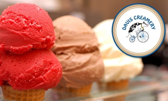 Davis Creamery - Davis: $5 for $10 Worth of Ice Cream at Davis Creamery