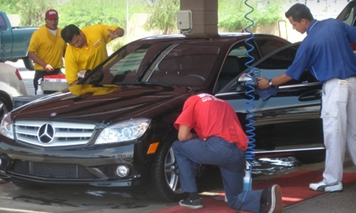 Super Star Car Wash - Multiple Locations: $15 for Three Super Dooper Washes at Super Star Car Wash ($44.85 Value)