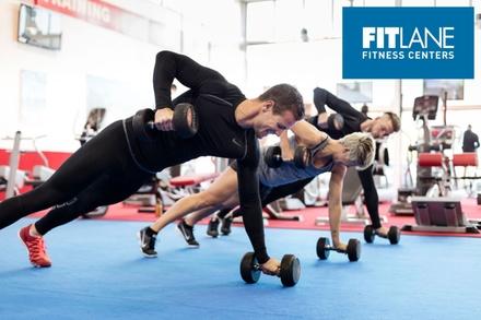 1 ou 2 mois daccès illimité aux 10 clubs FITlane dès 39,90 € chez FITlane Fitness Centers