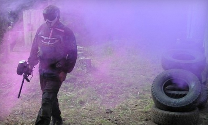Camp Dakota - Camp Dakota: One Year Unlimited Paintball Package or Paintball for Beginners Course With Equipment at Camp Dakota in Scott Mills (Up to 51% Off)