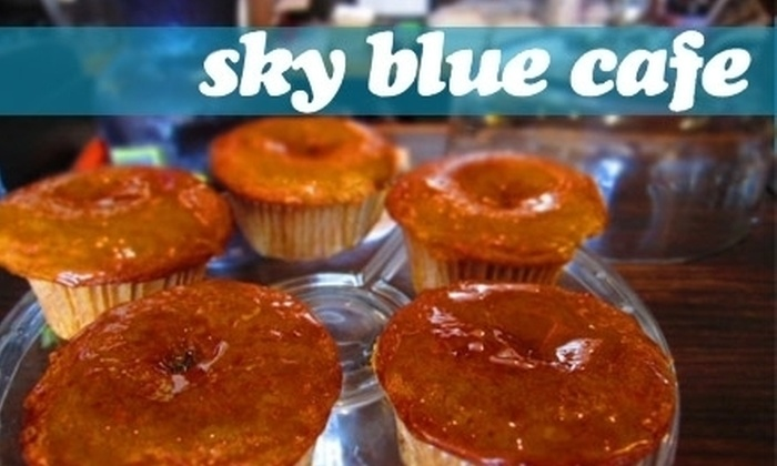 Sky Blue Cafe - Nashville: $6 for $20 Worth of Cafe Fare and Drinks at Sky Blue Cafe