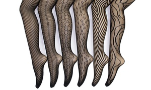 Fishnet Tights (6-Pack) Regular & Plus Sizes
