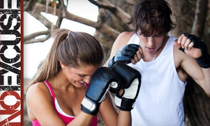 No Excuse Fitness and Training - Downtown Hamilton: $30 for 30 Days of Unlimited Group Fitness Training at No Excuse Fitness and Training in Hamilton ($175 Value)