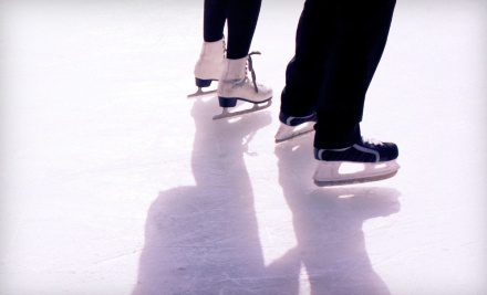10-Pass Punch Card to Open Skating with Skate Rental (up to an $80 value) - Suburban Ice Macomb in Macomb